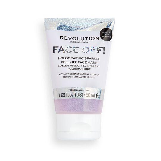 Revolution Skincare Holographic Glitter Face Off Mask