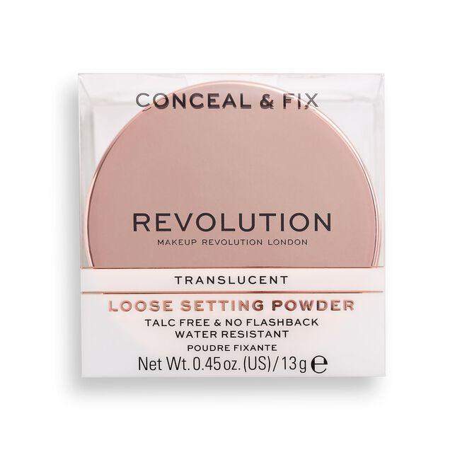 Conceal & Fix Setting Powder Translucent
