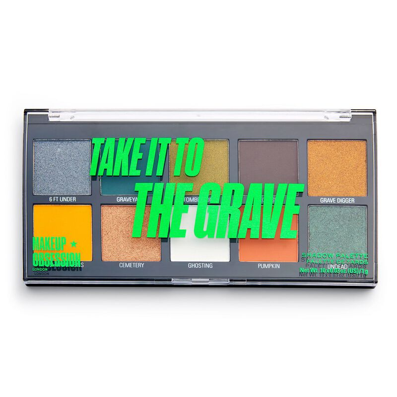 Makeup Obsession Take It to the Grave Shadow Palette