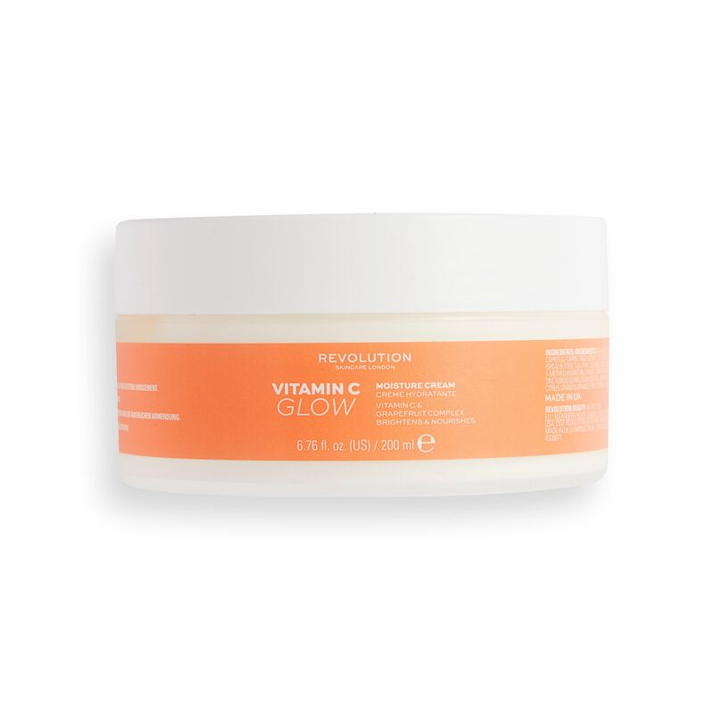 Revolution Body Skincare Vitamin C Glow Moisture Cream