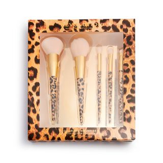 Wild Animal Courage Brush Set