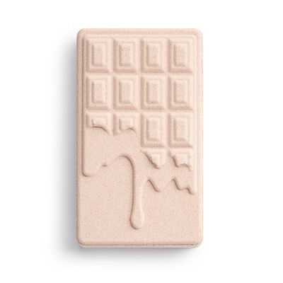 Chocolate Bar Bath Fizzer Rose