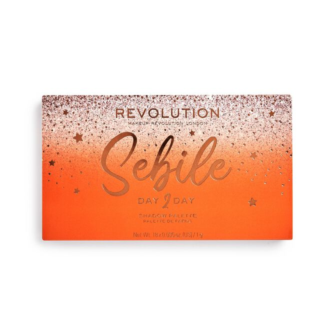 Revolution X Sebile Day 2 Day Eyeshadow Palette