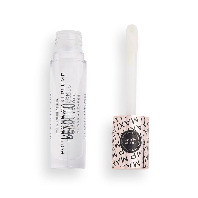 Makeup Revolution Pout Bomb Maxi Plump Lip Gloss Glaze