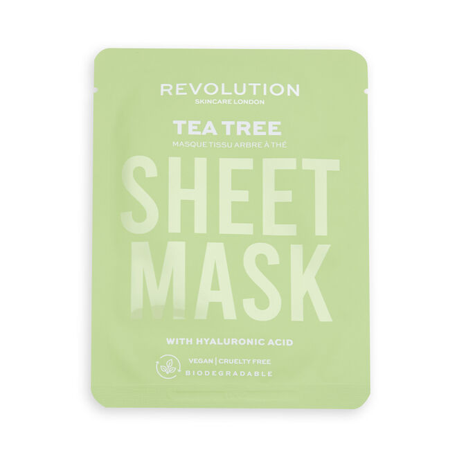 Revolution Skincare Oily Skin Biodegradable Sheet Mask