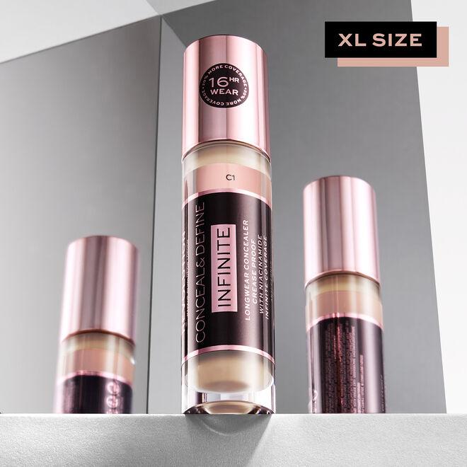 Makeup Revolution Conceal & Define Infinite Longwear Concealer XL (9ml)