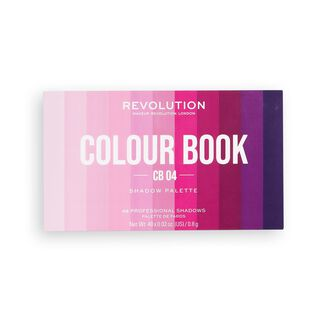 Makeup Revolution Colour Book Eyeshadow Palette CB04