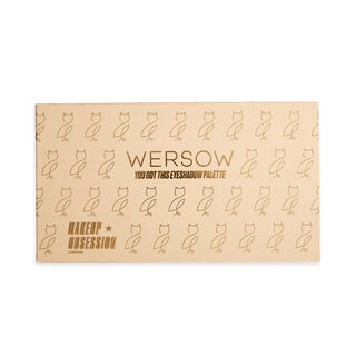 Makeup Obsession x Wersow You Got This Eyeshadow Palette