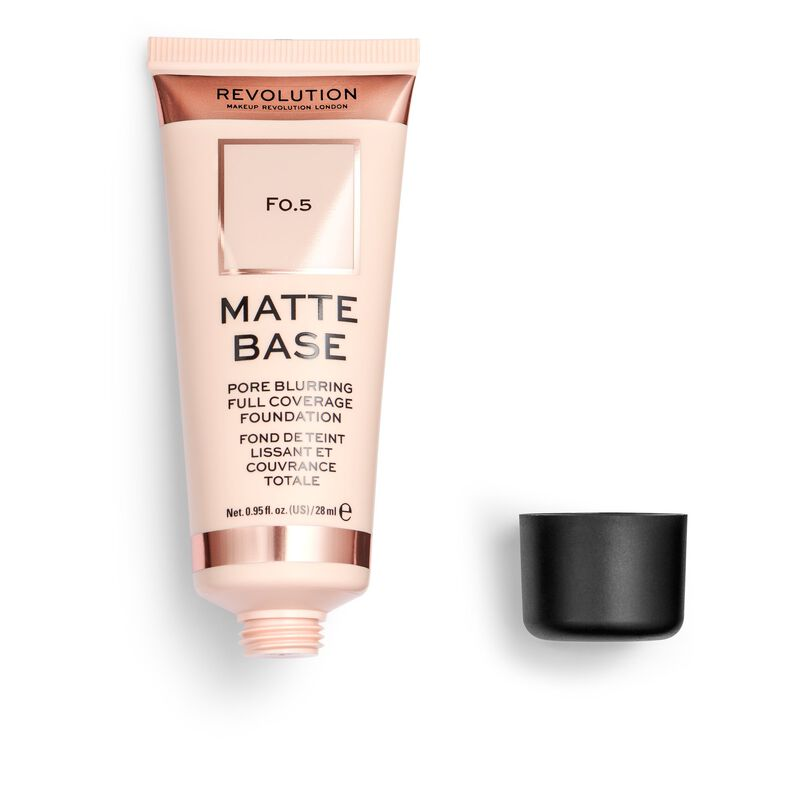 Matte Base Foundation F0.5