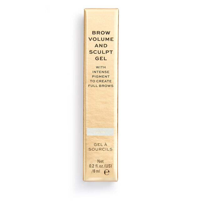 Brow Volume and Sculpt Gel Clear