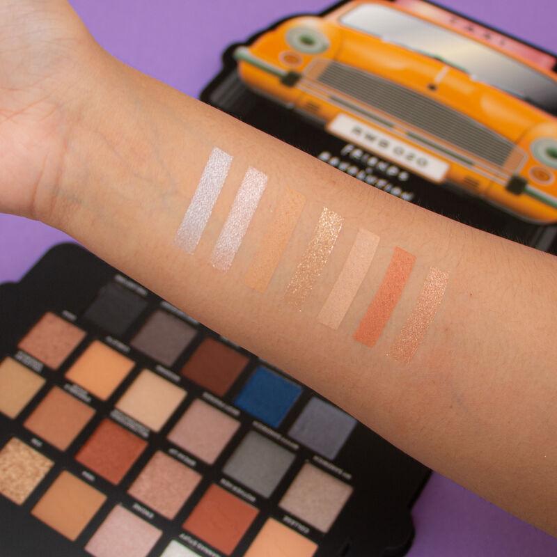 Makeup Revolution X Friends Take A Drive Eyeshadow Palette