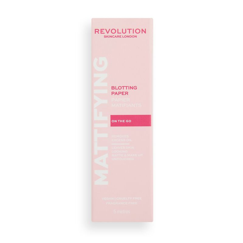 Revolution Skincare Mattifying Blotting Papers