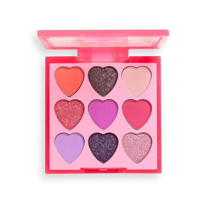 I Heart Revolution Heartbreakers Eyeshadow Palette Flamboyant