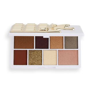 I Heart Revolution White Gold Mini Chocolate Eyeshadow Palette