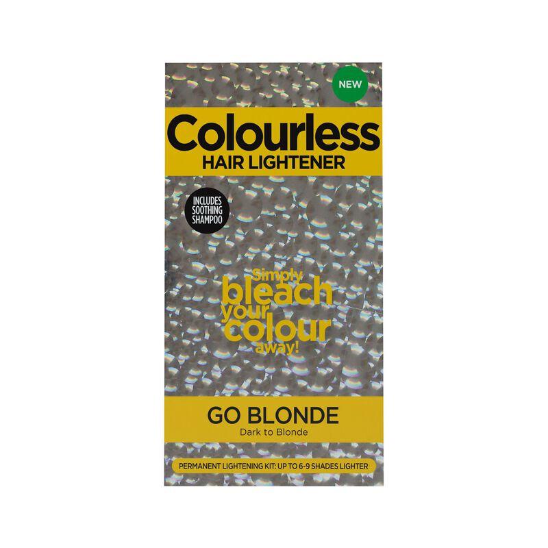 Colourless Go Blonde