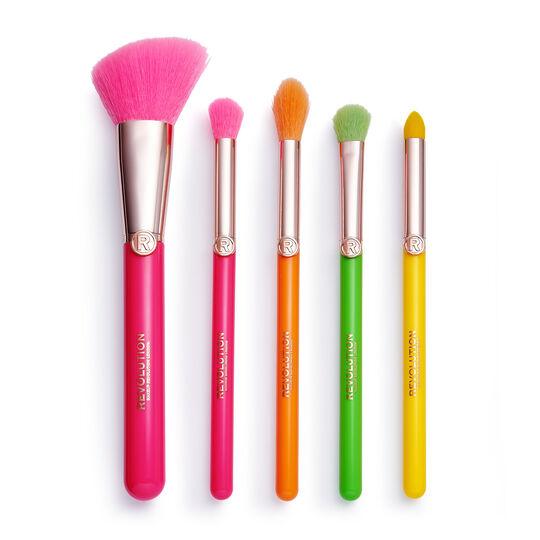 Makeup Revolution Neon Heat Brush Set