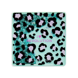 I Heart Revolution Leopard Glitter Eyeshadow Palette