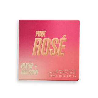 Makeup Obsession Blush Crush Palette Pink Rosé