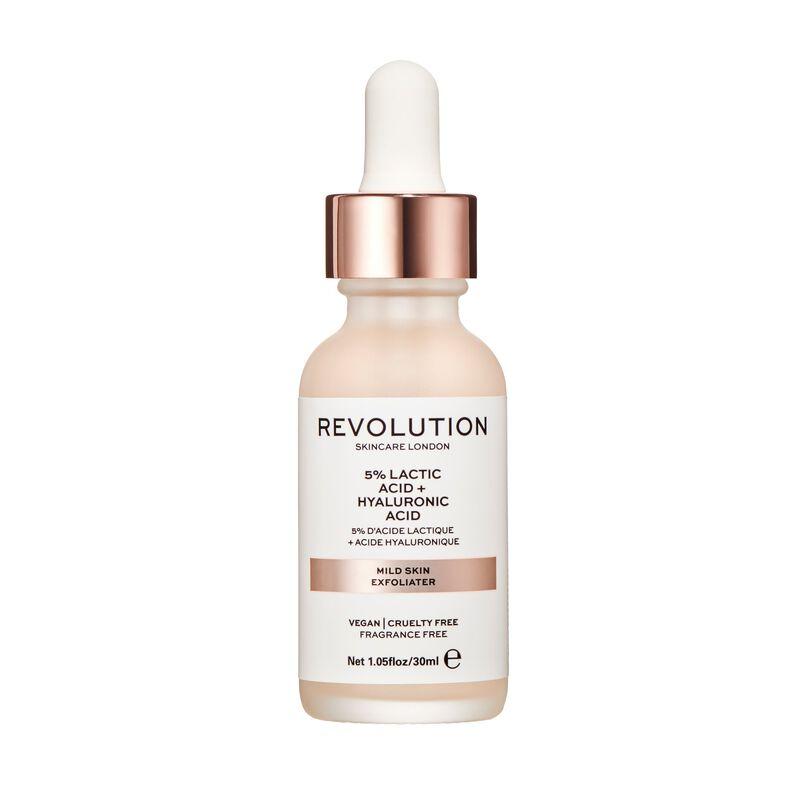 Mild Skin Exfoliator - 5% Lactic Acid + Hyaluronic Acid