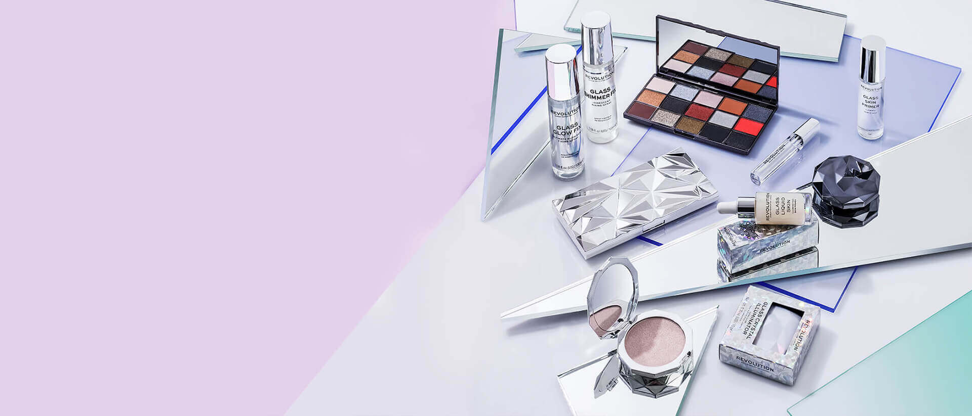 revolution beauty glass collection
