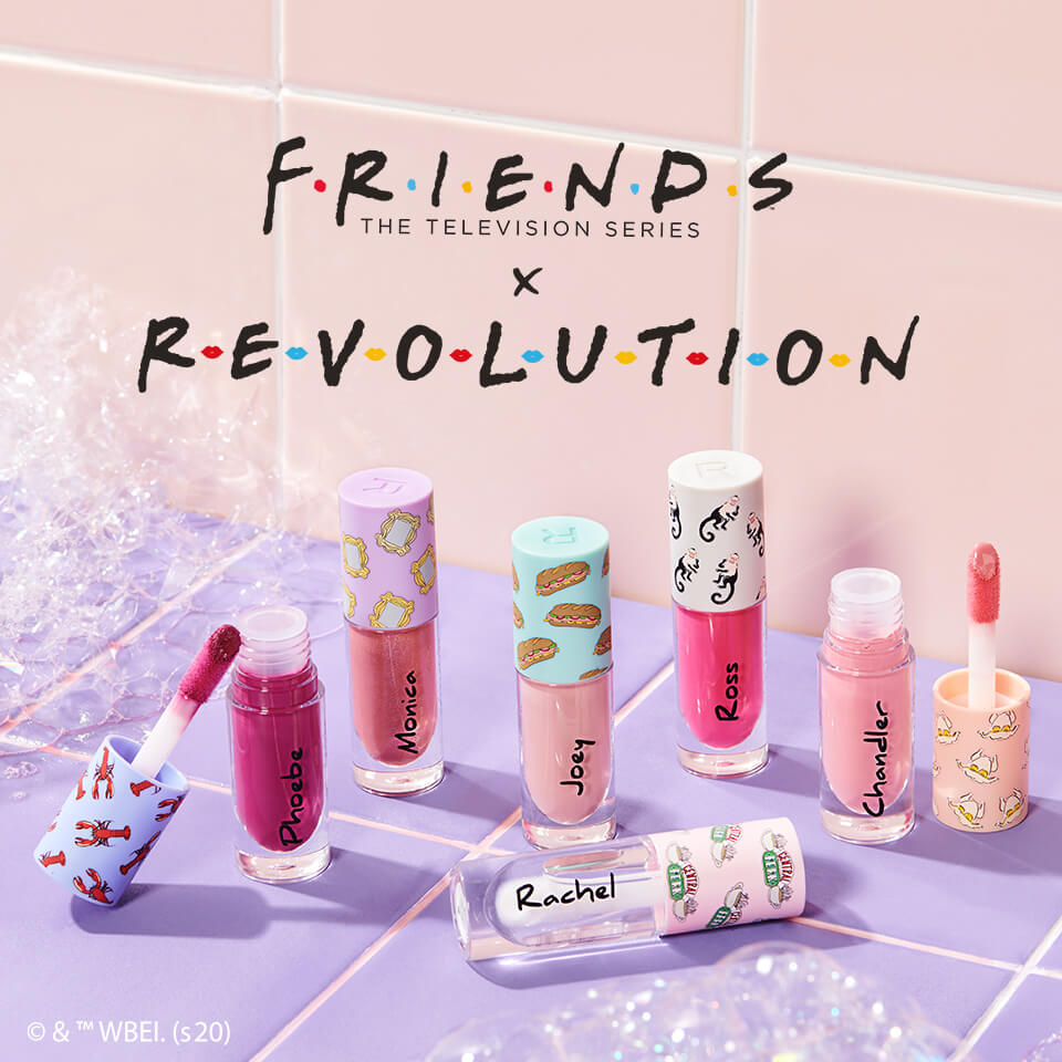 Oh. My. God. Friends x Revolution is HERE!