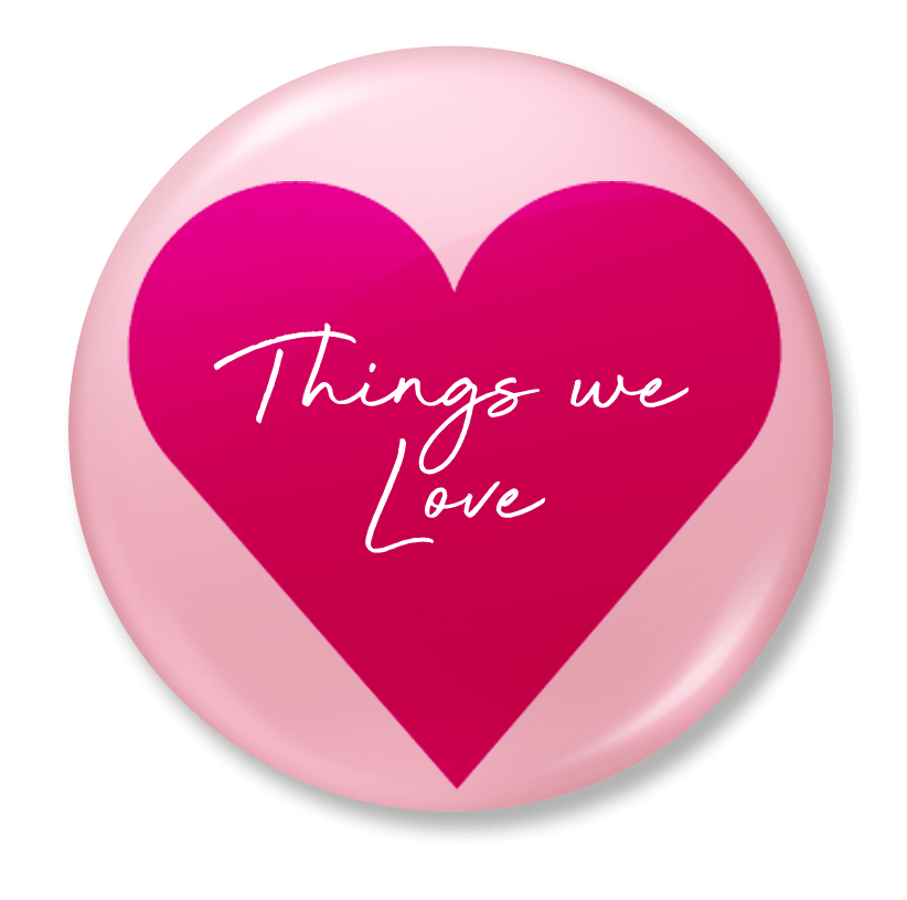 things we love badge