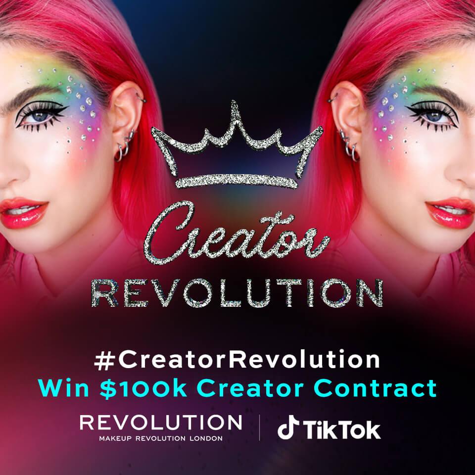 #CreatorRevolution