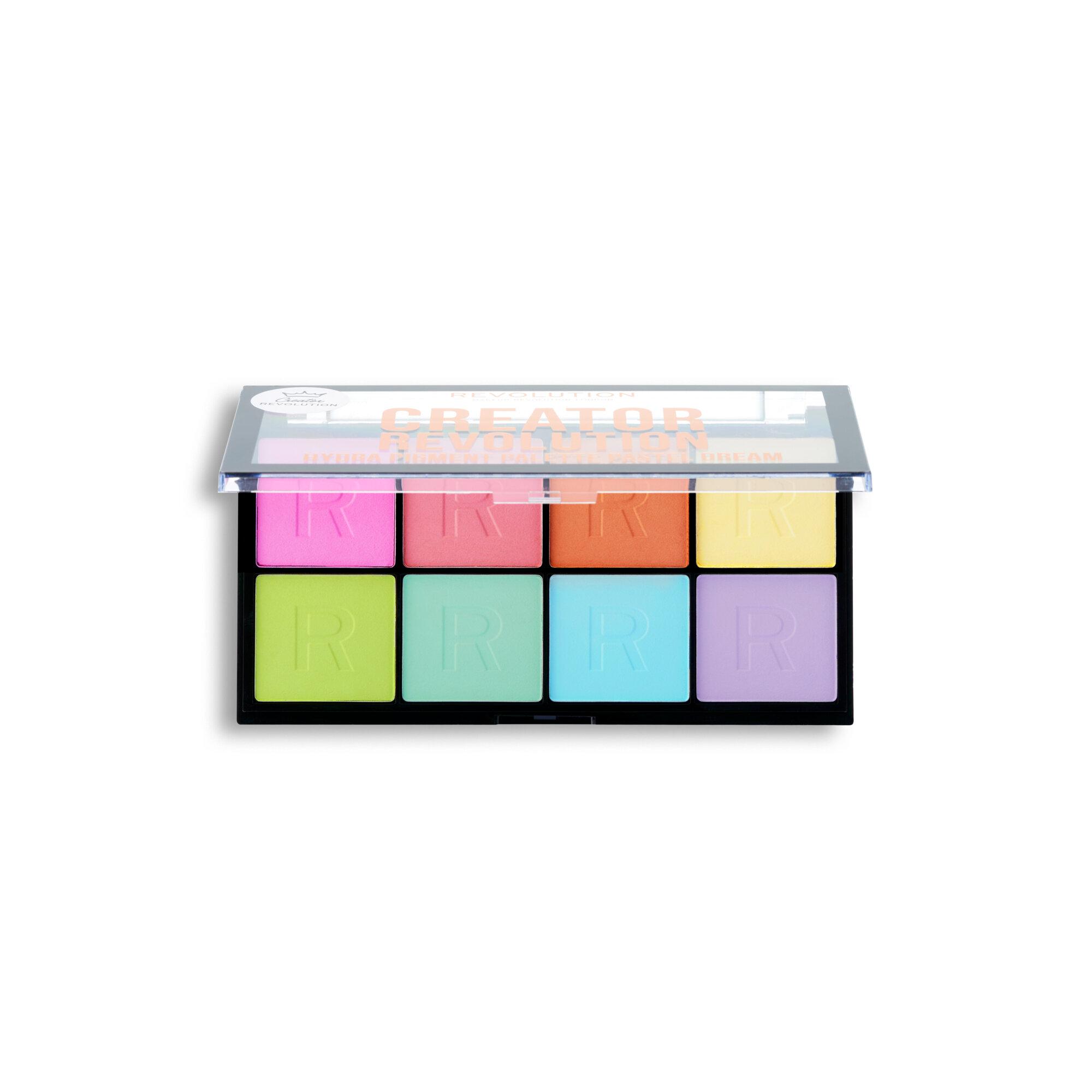Creator Revolution Hydra Pigment Palette Pastel Dream