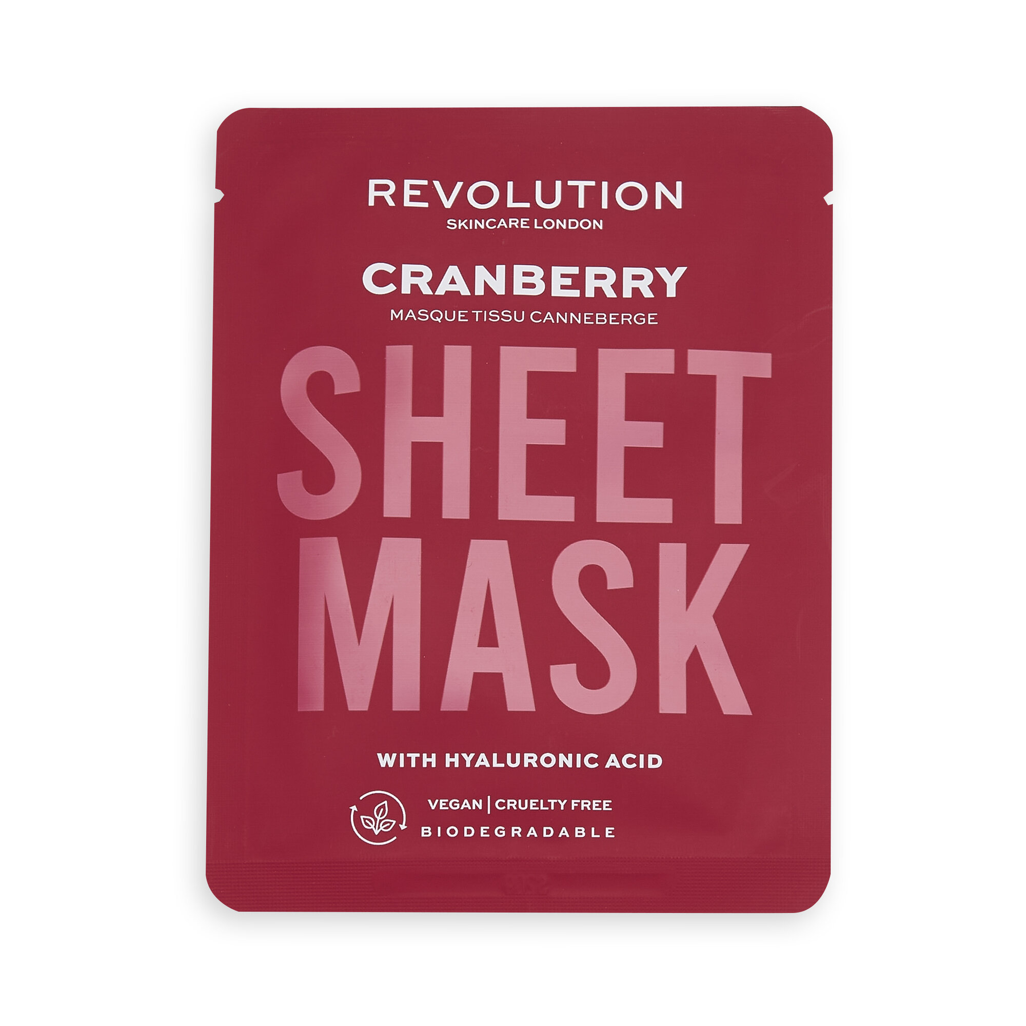 Revolution Skincare Dehydrated Skin Biodegradable Sheet Mask