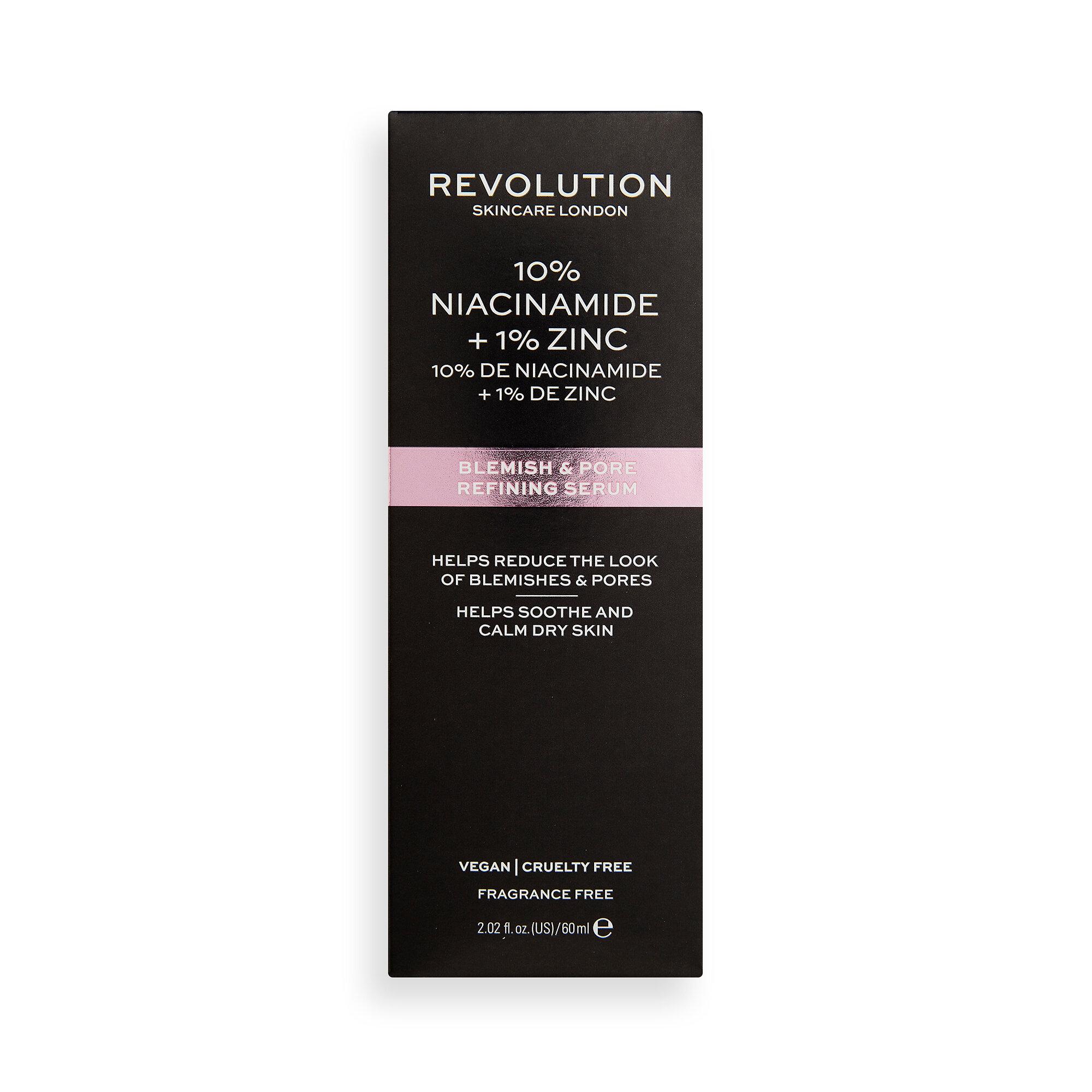 Revolution Skincare 10% Niacinamide and 1% Zinc Blemish & Pore Serum SUPER SIZED
