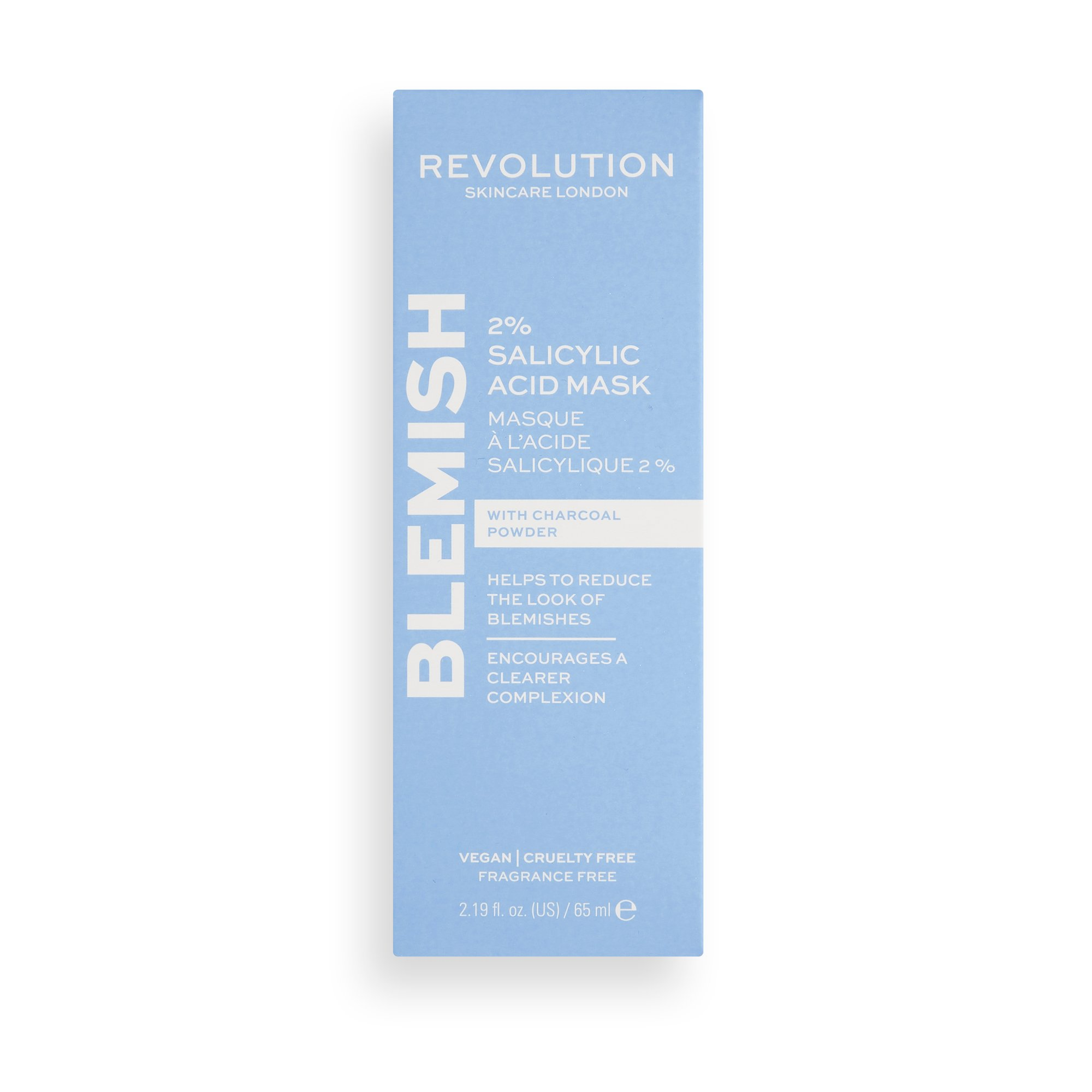 Revolution Skincare 2% Salicylic Acid BHA Anti Blemish Face Mask